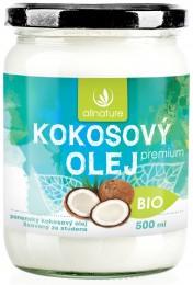 Allnature Kokosový olej BIO