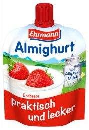Ehrmann Almighurt Jogurt do ruky jahoda