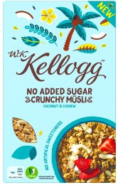 Kelloggs Cereálie Kokos & kešu