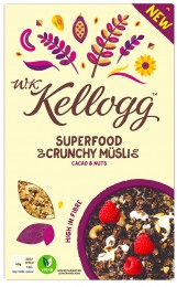 Kelloggs Cereálie Kakao &oříšky