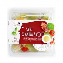 Titbit Zeleninový salát Slanina & Vejce