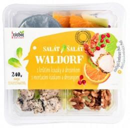 Titbit Zeleninový salát Waldorf s krůtím masem