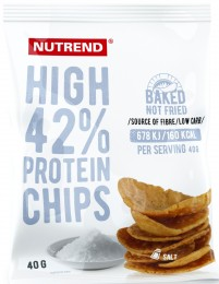 Nutrend HIGH PROTEIN CHIPS, sůl