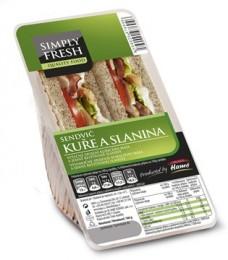 Simply Fresh Sendvič Kuře a slanina