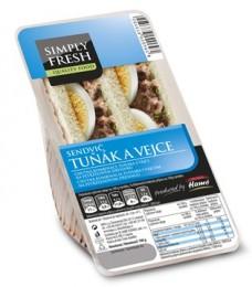 Simply fresh Sendvič Tuňák a vejce