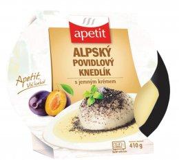 Apetit Alpský povidlový knedlík s jemným krémem