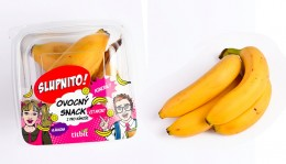 Titbit Ovocná svačinka mini banány