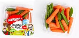 Zeleninová Svačinka mix baby karotka/hrášek