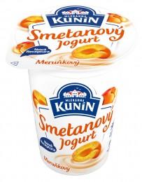 Mlékárna Kunín jogurt smetanový meruňkový