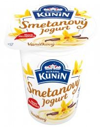 Mlékárna Kunín jogurt smetanový vanilkový