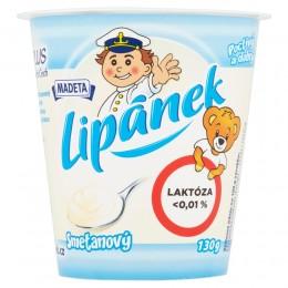 Madeta Lipánek smetanový s nízkým obsahem laktózy < 0,01%