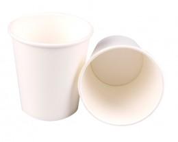 Papírový kelímek bílý 200 ml, 10 ks