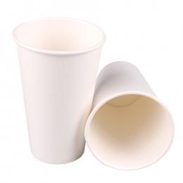 Papírový kelímek bílý 510 ml, 10 ks