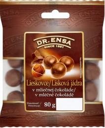 Dr.Ensa Lísková jádra v mléčné čokoládě