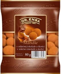 Dr.Ensa Mandle v mléčné čokoládě a skořici