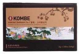Kombe Korejský ženšenový čaj s jujubou 20ks