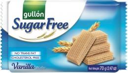 Gullón Vanilla wafer - oplatky plněné krémem, bez cukru