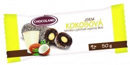 Chocoland Jsem Kokosová tmavá plněná vaječným likérem