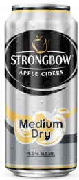 Strongbow Medium Dry plech