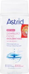 Astrid Soft Skin Zjemňující čisticí micelární voda pro suchou a citlivou pleť