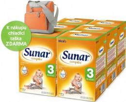 Sunar Complex 3, 6x600 g + velká termo taška