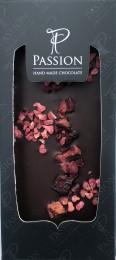 Passion Chocolate Tmavá čokoláda Malina a Třešeň