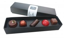 Passion Chocolate Čokoládové pralinky Passion směs 5ks