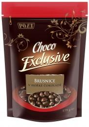 POEX Brusnice v hořké čokoládě