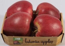 Bohemia Apples jablko Red Delicious, pack 4ks
