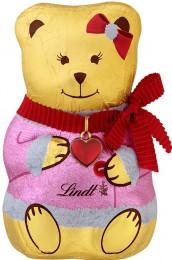 Lindt Medvídek holčička figurka mléčná