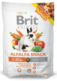 Brit Animals ALFALFA SNACK for RODENTS