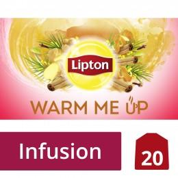 Lipton Ovocný aromatizovaný čaj Warm me Up 20 sáčků