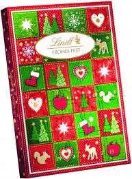 Lindt Adventní kalendář Merry Christmas