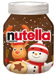 Nutella vánoční edice