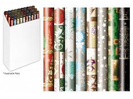 Balicí papír vánoční v roli 200x70 cm