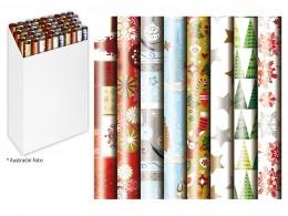 Balicí papír vánoční v roli 500x70 cm