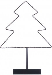 EMOS LED stromek stojan s časovačem vánoční dekorace