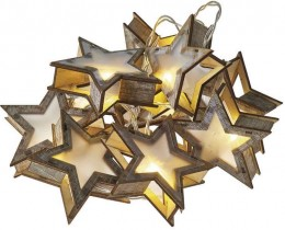 EMOS LED hvězdy s časovačem vánoční dekorace