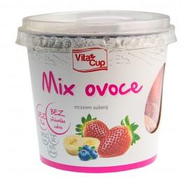 VitaCup Mix jahoda/banán/borůvka mrazem sušené