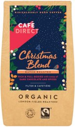 Cafédirect BIO Christmas Blend Mletá káva Peru & Ethiopia