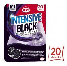 K2r Intensive Black prací ubrousky 20ks