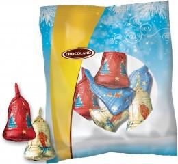 Chocoland Vánoční dekorace sáček Zvonky