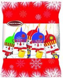 Chocoland Vánoční dekorace sáček Sněhulák