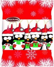 Chocoland Vánoční dekorace sáček Tučňák