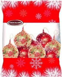 Chocoland Vánoční dekorace sáček Koule