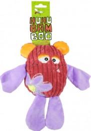 Huhubamboo Animal červený panáček 23 cm