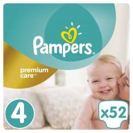 Pampers Premium Care Maxi 8-14kg (velikost 4) 52ks