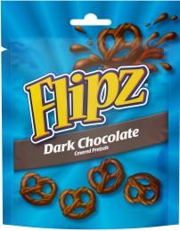 Flipz Preclíky v tmavé čokoládě
