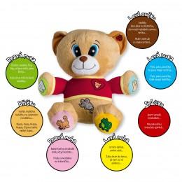 Medvěd Tedík plyšový, česky mluvící