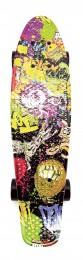 Skateboard - pennyboard 60cm s barevným potiskem